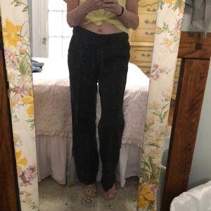 J Crew Linen Blend City Fit Pants